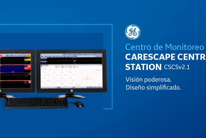 Central de Monitoreo GE Carescape CSCSv2.1