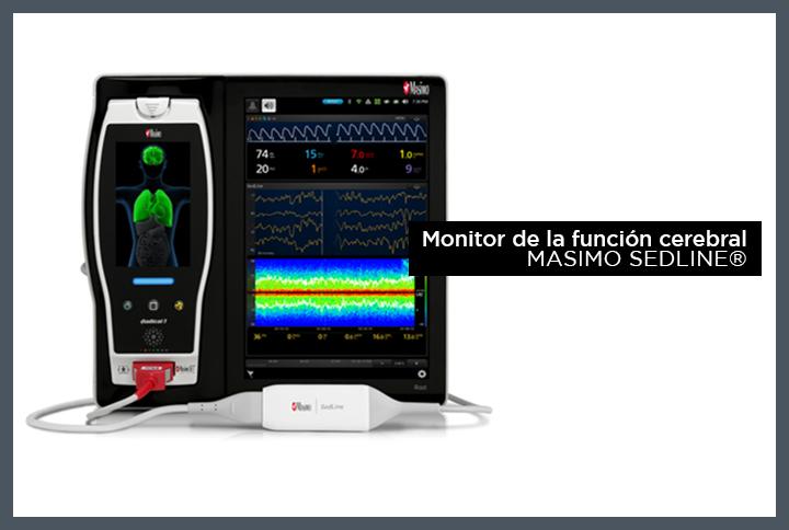 Monitorización de la función cerebral SedLine®