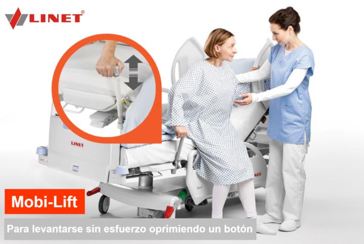 Linet ofrece distintas herramientas para trabajar sobre la movilización temprana en cada etapa de la recuperación.