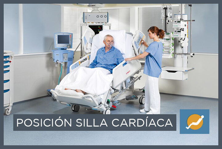 Posicion silla cardiaca LINET