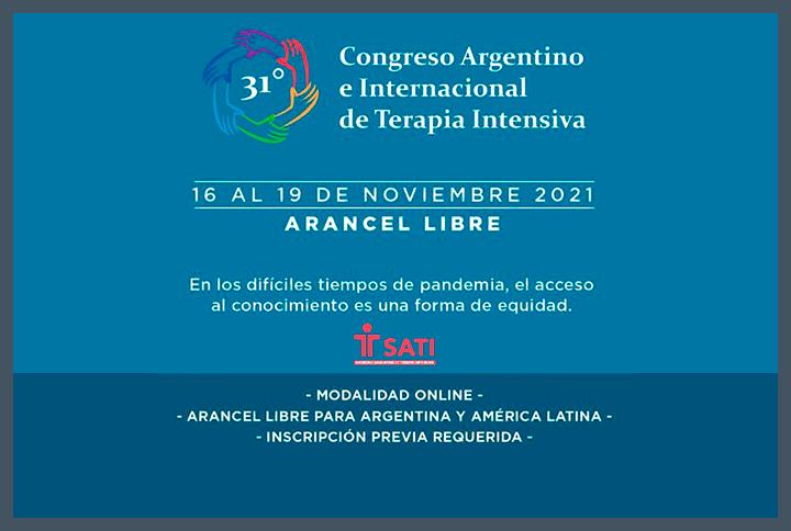 Congreso Argentino e Internacional de Terapia Intensiva